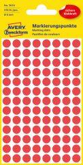 Avery Zweckform 3010 piros színű öntapadós jelölő címke