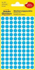 Avery Zweckform 3011 kék színű öntapadós jelölő címke