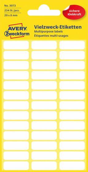 Avery Zweckform 3073 kézzel írható öntapadós etikett címke