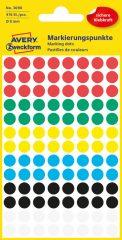 Avery Zweckform 3090 vegyes színű öntapadós jelölő címke