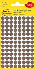 Avery Zweckform 3110 barna színű öntapadós jelölő címke
