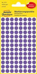 Avery Zweckform 3112 lila színű öntapadós jelölő címke