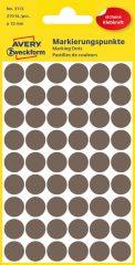 Avery Zweckform 3113 barna színű öntapadós jelölő címke