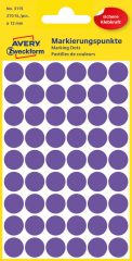 Avery Zweckform 3115 lila színű öntapadós jelölő címke