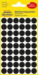 Avery Zweckform 3140 fekete színű öntapadós jelölő címke