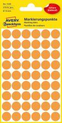 Avery Zweckform 3148 neon narancssárga színű öntapadós jelölő címke
