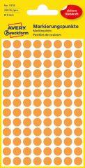 Avery Zweckform 3178 neon narancssárga színű öntapadós jelölő címke