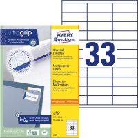 Avery Zweckform 3421 nyomtatható öntapadós etikett címke