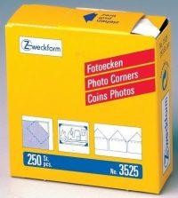 Avery Zweckform Z-Design No. 3525 papír öntapadó fényképsarok - 250 darab / doboz - kiszerelés: 250 darab / doboz (Avery Z-Design 3525)