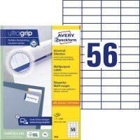 Avery Zweckform 3668 nyomtatható öntapadós etikett címke