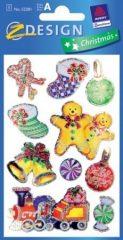 Avery Zweckform Z-Design No. 52281 karácsonyi fólia matrica - karácsonyi ajándékok motívumokkal - kiszerelés: 1 ív / csomag (Avery Z-Design 52281)