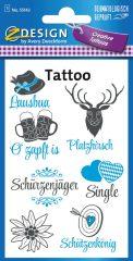 Avery Zweckform Z-Design No. 55143 öntapadó tetoválás matrica - Oktoberfest, Bajorország motívumokkal - kiszerelés: 1 ív / csomag (Avery Z-Design 55143)