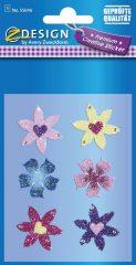 Avery Zweckform Z-Design No. 55646 csillogó varázslatos matrica - színes virág mintával - kiszerelés: 1 ív / csomag (Avery Z-Design 55646)
