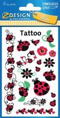 Avery Zweckform Z-Design No. 56735 öntapadó tetoválás matrica - katicabogarak motívumokkal - kiszerelés: 1 ív / csomag (Avery Z-Design 56735)