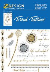 """Avery Zweckform Z-Design No. 56800 öntapadó tetoválás matrica - """"Ethno"""" motívumokkal - kiszerelés: 1 ív / csomag (Avery Z-Design 56800)"""