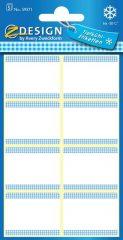 Avery Zweckform Z-Design No. 59371 papír matrica fagyasztott termékek feliratozására, megjelölésére - fehér színben - kiszerelés: 5 ív / csomag (Avery Z-Design 59371)