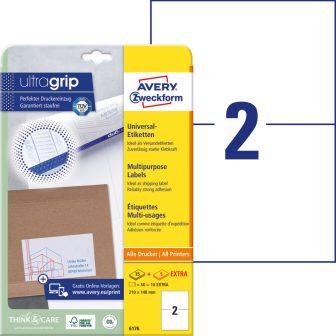 Avery Zweckform 6176 nyomtatható öntapadós etikett címke
