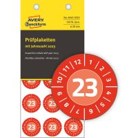 Avery Zweckform 6945-2023 biztonsági hitelesítő címke 2023-as évszámmal