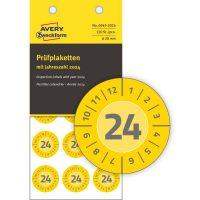 Avery Zweckform 6945-2024 biztonsági hitelesítő címke 2024-es évszámmal