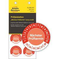 Avery Zweckform 6990-2023 biztonsági hitelesítő címke Nächster Prüftermin felirattal
