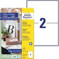 Avery Zweckform 7168-10 nyomtatható öntapadós csomag címke