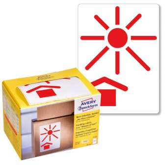 Avery Zweckform 7253 öntapadós figyelemfelhívó áruvédelmi címke