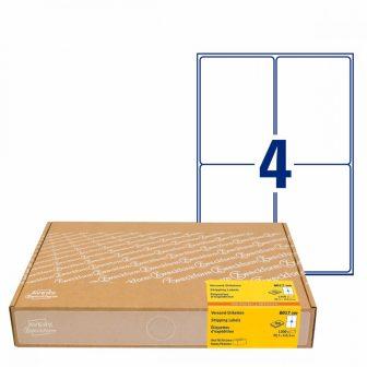 Avery Zweckform 8017-300 nyomtatható öntapadós univerzális csomag címke
