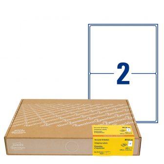 Avery Zweckform 8018-300 nyomtatható öntapadós univerzális csomag címke