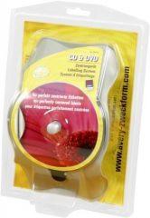 Avery Zweckform No. AB750 központosító eszköz CD és DVD lemezek címkézéséhez (Avery AB750)