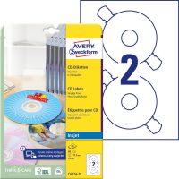 Avery Zweckform C6074-20 ClassicSize nyomtatható öntapadós CD címke