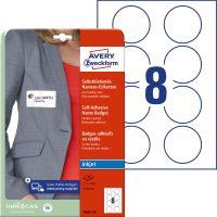 Avery Zweckform J4881-20 textilre ragasztható nyomtatható öntapadós névcímke