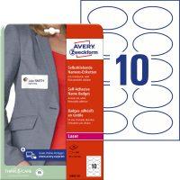 Avery Zweckform L4882-20 textilre ragasztható nyomtatható öntapadós névcímke