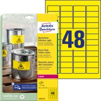 Avery Zweckform L6103-20 nyomtatható öntapadós időjárásálló etikett címke