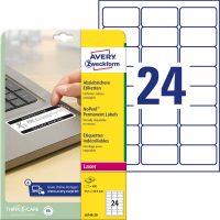 Avery Zweckform L6146-20 nyomtatható öntapadós eltávolíthatatlan etikett címke