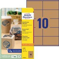 Avery Zweckform L7108-25 nyomtatható környezetbarát öntapadós termék címke