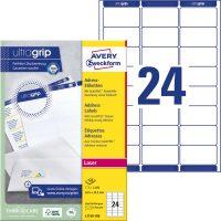 Avery Zweckform L7159-100 nyomtatható öntapadós címzés címke