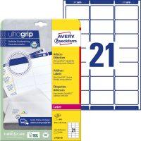 Avery Zweckform L7160-40 nyomtatható öntapadós címzés címke