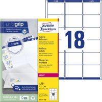 Avery Zweckform L7161-100 nyomtatható öntapadós címzés címke