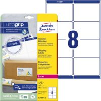 Avery Zweckform L7165-40 nyomtatható öntapadós csomag címke