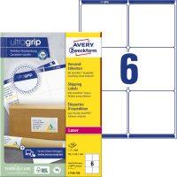 Avery Zweckform L7166-100 nyomtatható öntapadós csomag címke