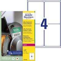 Avery Zweckform L7915-40 nyomtatható öntapadós ultra ellenálló etikett címke