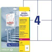 Avery Zweckform L8003-10 nyomtatható öntapadós antimikrobiális etikett címke