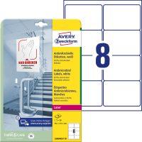 Avery Zweckform L8004REV-10 nyomtatható öntapadós antimikrobiális etikett címke
