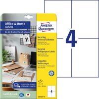 Avery Zweckform LR3483-10 nyomtatható környezetbarát öntapadós etikett címke